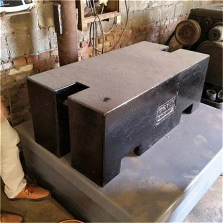 江西大量供应2吨铸铁砝码 M1级校秤砝码 1000公斤平板型砝码
