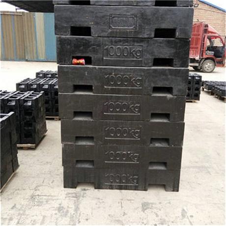 呼和浩特1吨砝码检定费用 M1等级2T锁型砝码配重块厂家