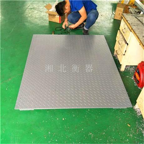 九江3吨工业电子地磅 带打印1.5x1.5米电子平台秤 厂家供应