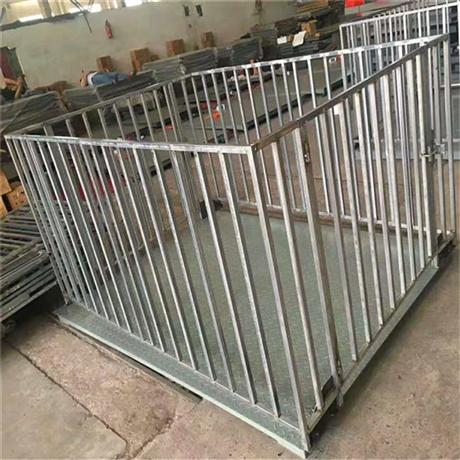 南宁养殖场称猪电子秤 猪笼电子磅秤围栏1吨2吨3吨地磅称价格