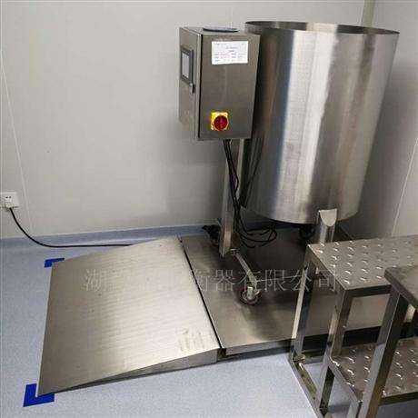 不锈钢地磅秤1-3吨电子地磅称化工磅秤 1吨2t称平台加厚防腐蚀地秤