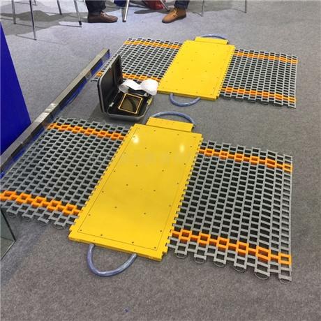便携式动态称重电子轴重秤 单轴60吨桥梁超载检测仪