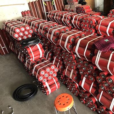 输送机托辊厂家 槽型托辊 批发定制矿用输送机皮带托辊
