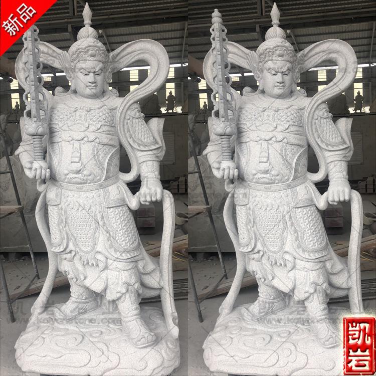 销售石雕韦陀  寺庙石雕韦陀菩萨  韦陀石雕厂家批发