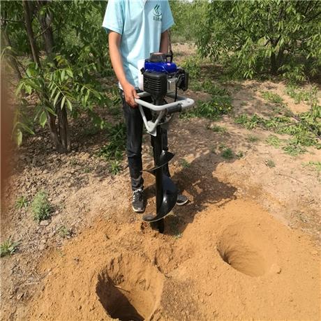 新品打树窝机快速挖洞一次成型