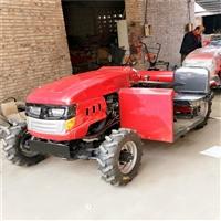单缸15马力小四轮旋耕机 大马力四轮翻土旋耕机 20马力四驱拖拉机