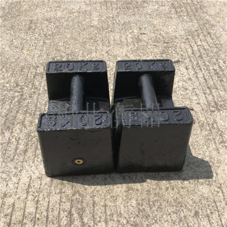 合肥铸铁砝码厂家 20千克校秤用标准砝码 M1-25KG电梯配重砝码