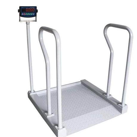 TCS-300公斤电子轮椅秤 300kg透析轮椅秤 0.8*0.8m电子轮椅秤价格