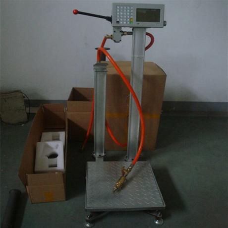 毕节液化气自动定量充装电子秤 120千克气体灌装秤生产商