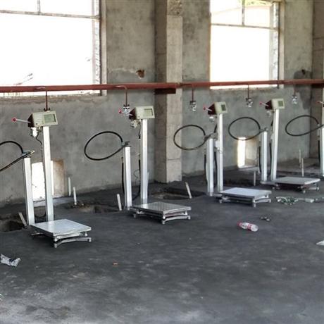 定量充装称供应商 二氧化碳自动灌装电子秤