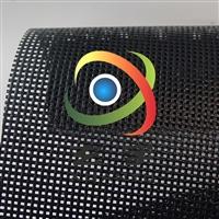黑龙江防水150宽塑料网格布  喷绘网格布