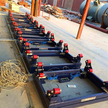 苏州500kg双层氯瓶电子秤 1吨钢瓶电子磅秤 带信号输出钢瓶秤