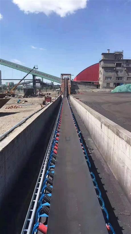自动化粮食装卸输送机 伸缩式装车皮带机 砂石料场输送机