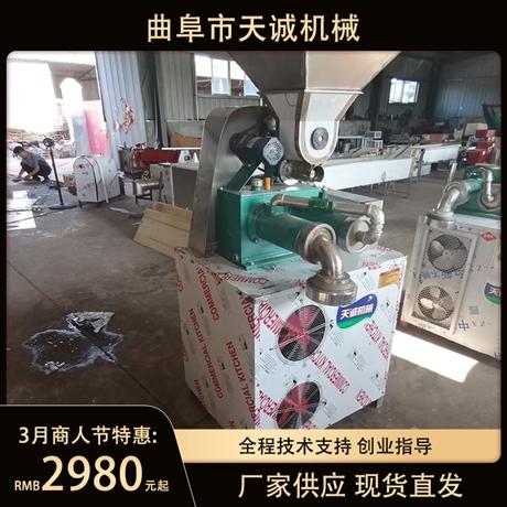 廠家直發新型玉米面條機 商用自熟半干米線機價格