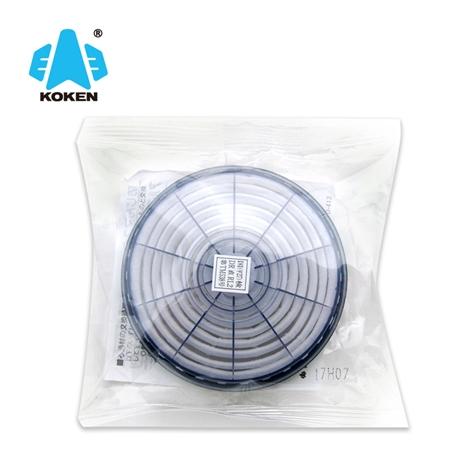 兴研代理 泽津伟业一级进口商KOKEN兴研1180-05 LAS-51滤棉滤芯焊