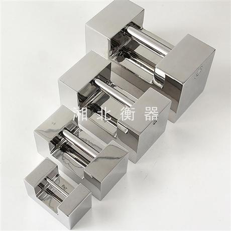 兰州药厂不锈钢砝码20kg锁型标准砝码 F2级10公斤校验手提砝码