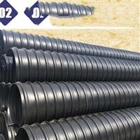 汉中HDPE双壁波纹管 小区排污塑料管 聚乙烯排雨水管