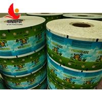 工厂订制茶叶复合膜 强度好自动包装机卷膜