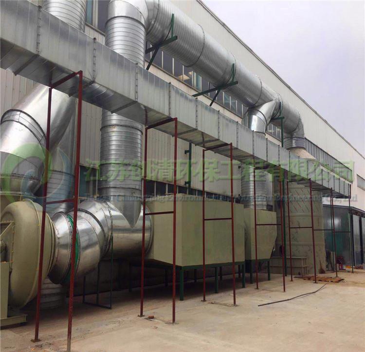 黄山发电机厂废气处理-发电机厂VOCs处理设备厂家