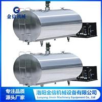 不銹鋼運輸牛奶制冷罐 電加熱儲罐生產線 壓力容器罐銷售報價