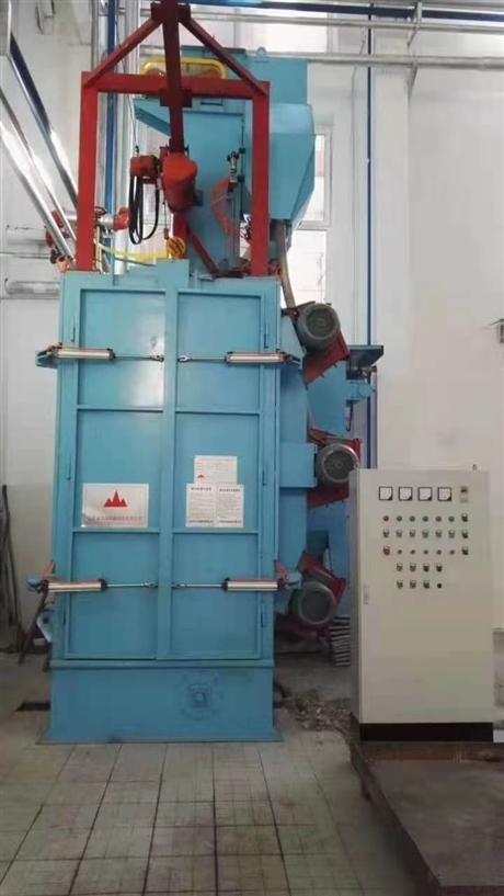 Q3720型单钩式抛丸清理机