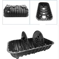 晋中化粪池厂家 三格化粪池 厕所原理结构图 塑料化粪池图片