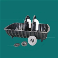 洛阳塑料三格式化粪池 河南厕所使用三格化粪池 交口旱厕改造化粪池