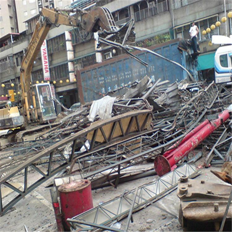 珠海工厂车间设备回收 无尘车间彩钢板岩棉板拆除