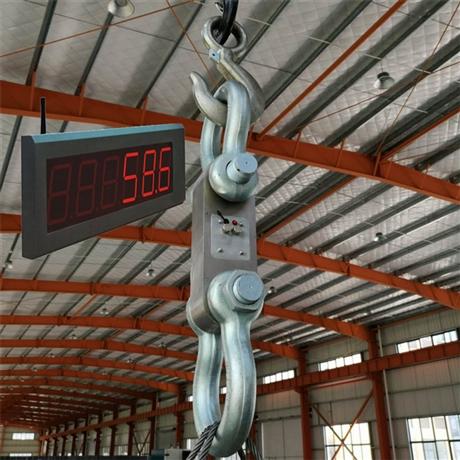 天津100吨吊索无线拉力计 无线测力仪价格 手持数显50T测力计