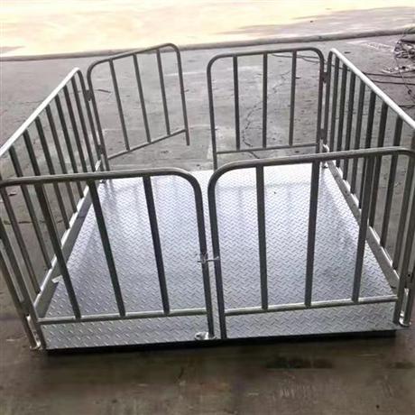 芜湖500公斤电子秤养殖业称重 猪笼地磅秤1T价格