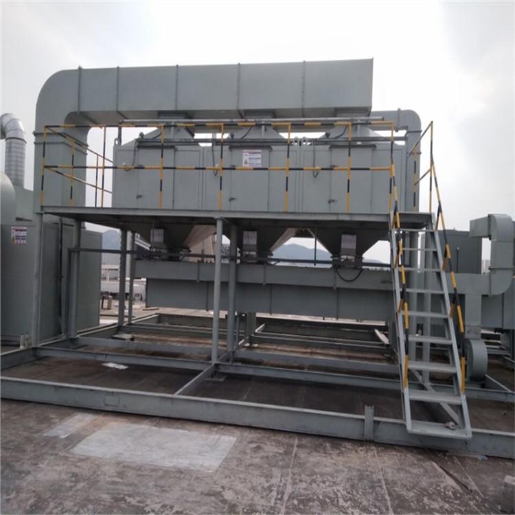 东台皮革厂废气处理-鞋厂废气净化设备-创清环保废气处理公司