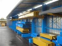 無錫重型雙麵懸臂式貨架  BG真人和AG真人工廠非標定製  用料足  承載大耐久用