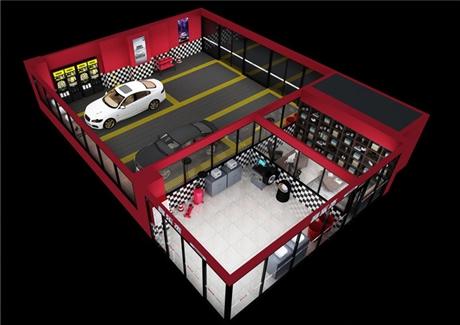 合肥汽车美容店装修,在施工时要注意这店点事项