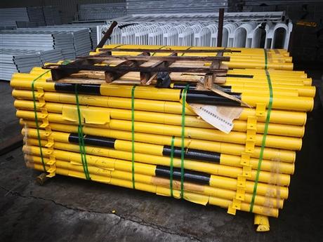 河南申济支持定制批发加油站车库u型钢管挡车器