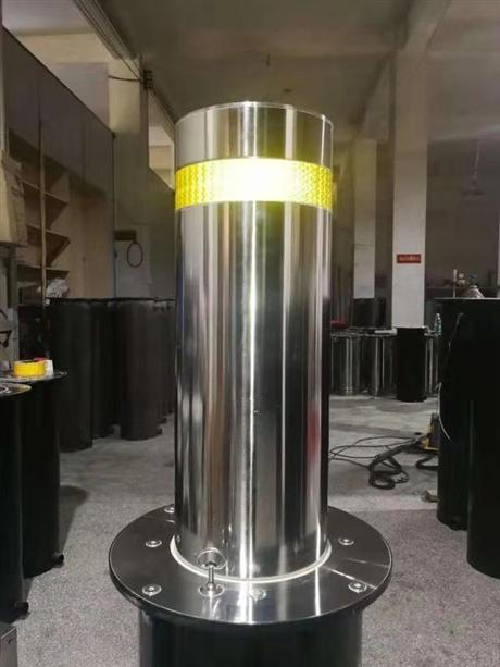 河南申济工厂直供支持定制批发半自动液压不锈钢撞升降路桩