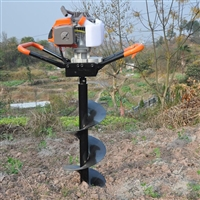 三农手提式挖坑机 树苗种植打坑机 农用打桩机A2
