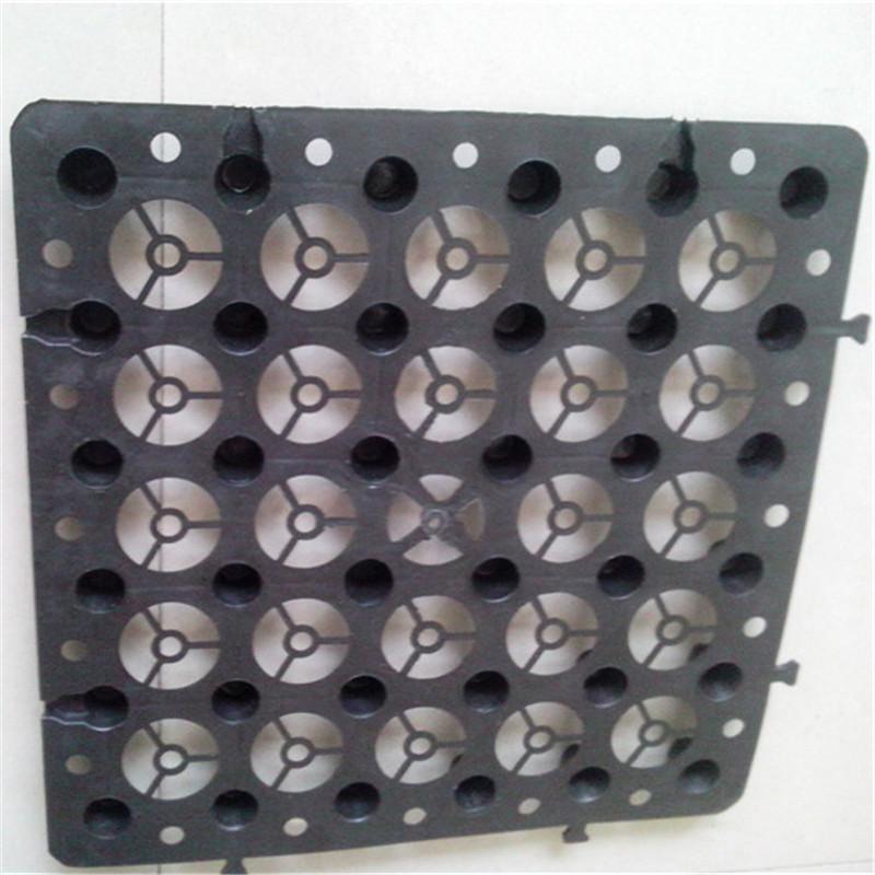 塑料排水板厂家供应 塑料凹凸板 车库顶板蓄排水板