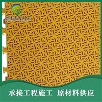 新疆悬浮拼装地板 新疆塑胶跑道 室内球场悬浮地板