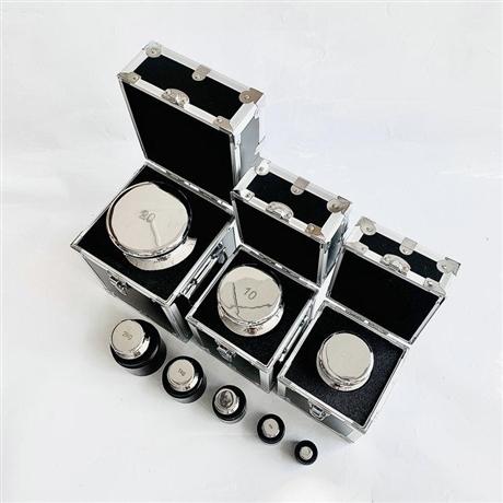 成都组合装天平校准砝码 不锈钢无磁套装砝码M1F1F2E2级标准砝码