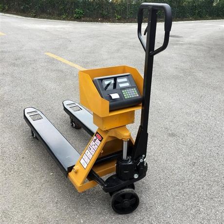 郴州1吨移动叉车秤 2t电子叉车秤 3吨打印托盘电子秤