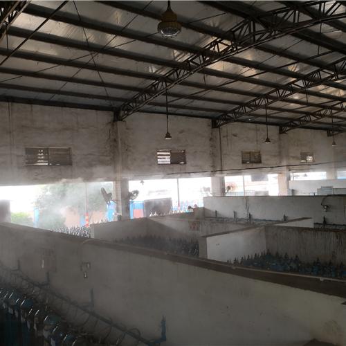铁皮房喷雾降温系统