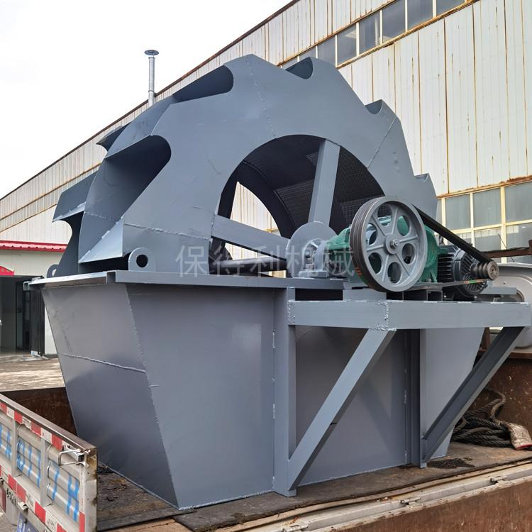 矿用洗沙机 多轮式洗砂机 砂石生产线洗沙机