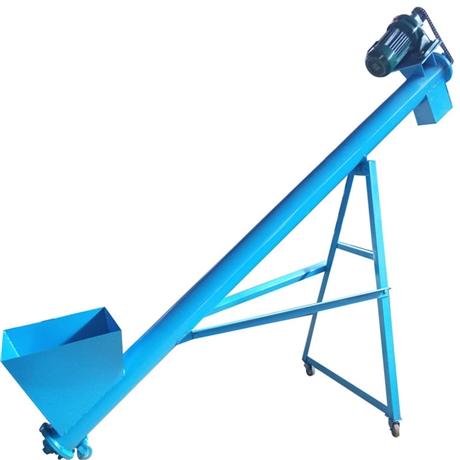 水泥螺旋输送机 螺旋输送机电机连接 汇宏不锈钢振动螺旋提升机