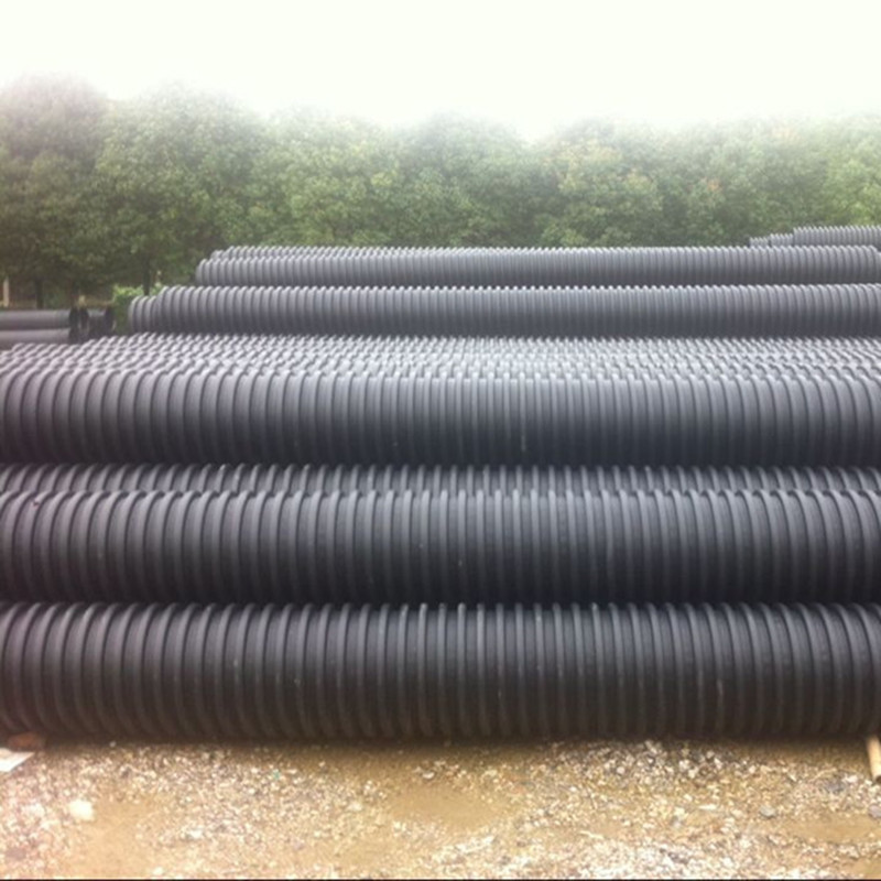 内蒙古HDPE克拉管 缠绕增强B型排污管 埋地克拉管厂家