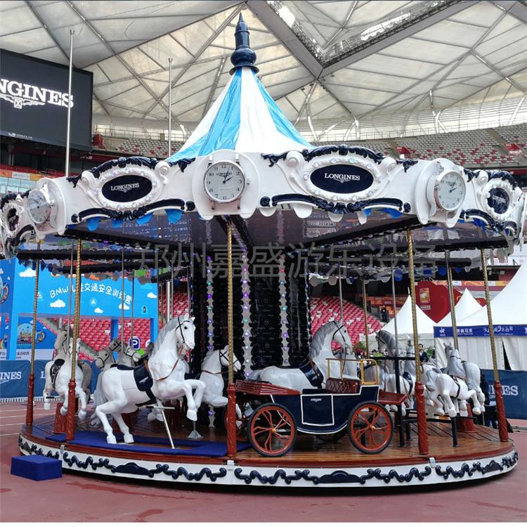 提供二手转马游乐设施   二手旋转木马价格  就成新的二手转马