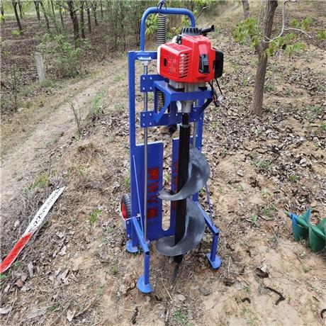 小型挖树坑机大功率打孔设备