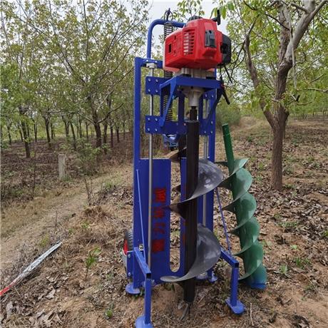 新品植树打洞机掏孔快捷