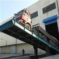 厂家自动液压翻板 汽车衡液压卸车机 设备投资少