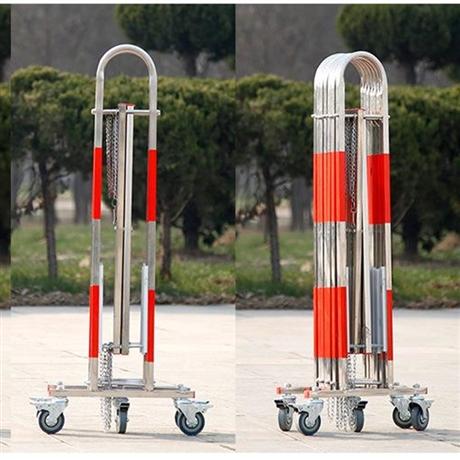 可移动围栏 电力施工防护栏 玻璃钢伸缩绝缘伸缩围栏