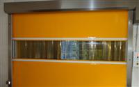 智能快速卷帘门 透明可视玻璃 大型柔性升降